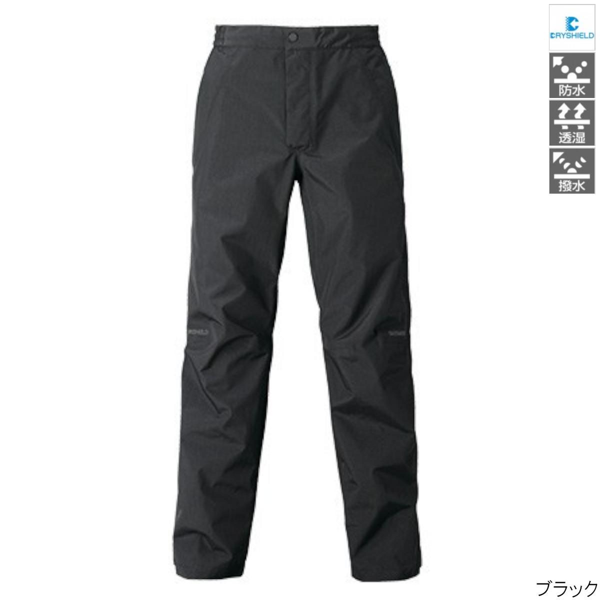 【8日最大8千円オフクーポン!】シマノ DSエクスプローラーレインパンツ RA-04PT Ls ブラック