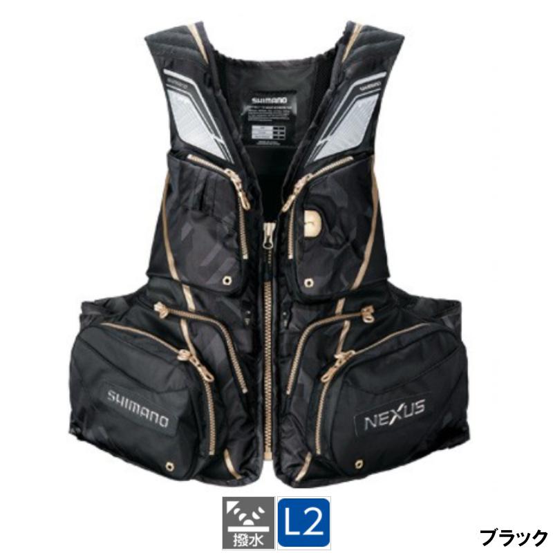 【8日最大8千円オフクーポン!】シマノ NEXUS・フローティングベスト EX VF-121T XL ブラック
