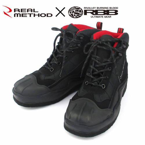 TAKAMIYA(TAKAMIYA)REALMETHOD×RBB毡钉鞋JH-208 M黑色
