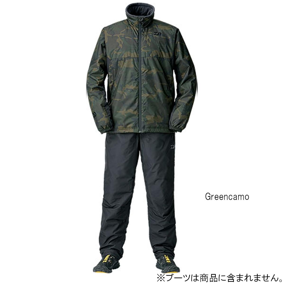 ダイワ ウォームアップスーツ DI-52008 L Greencamo