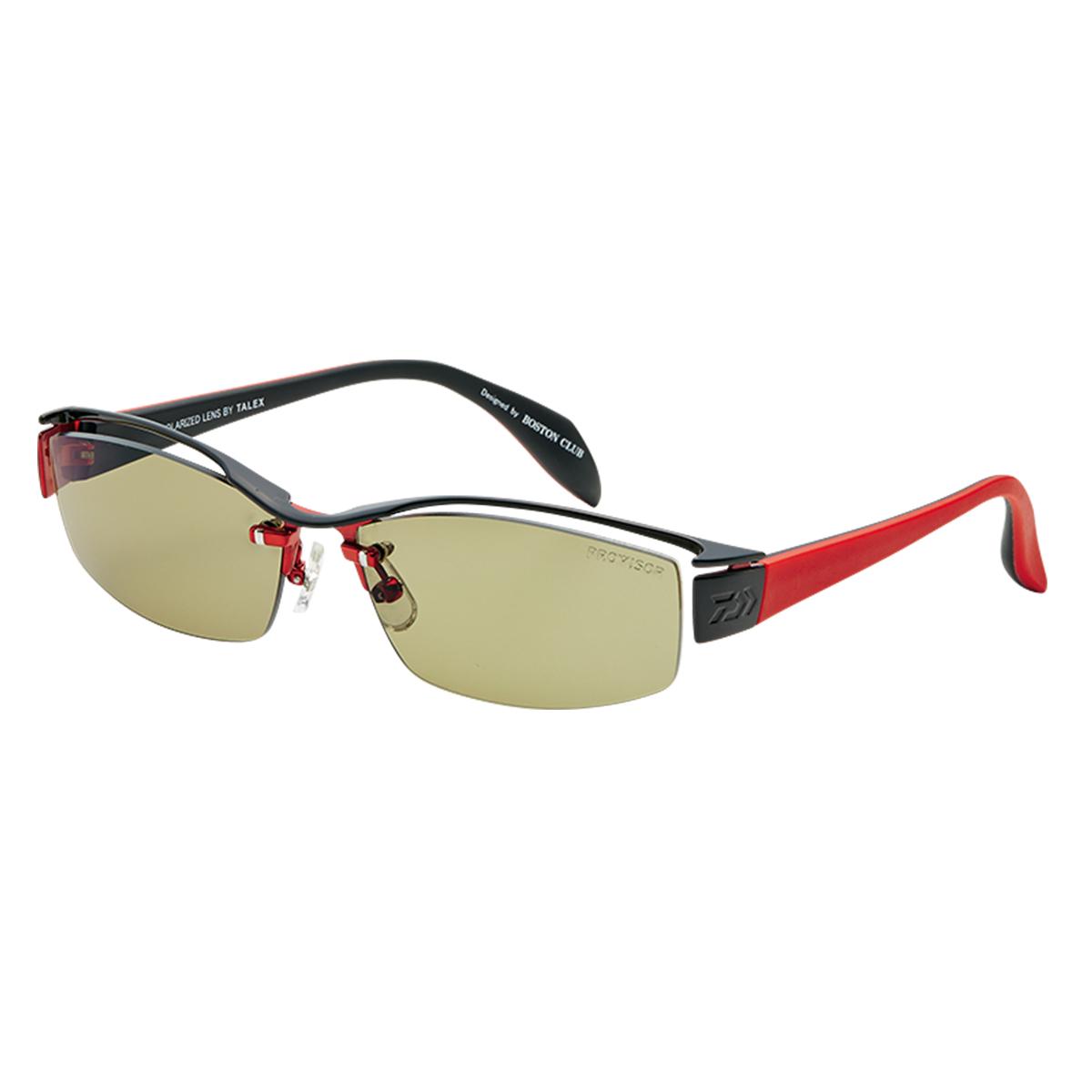 ダイワ TLX 011 PROVISOR BLACK×RED&RED×BLACK/TRUEVIEW SPORTS