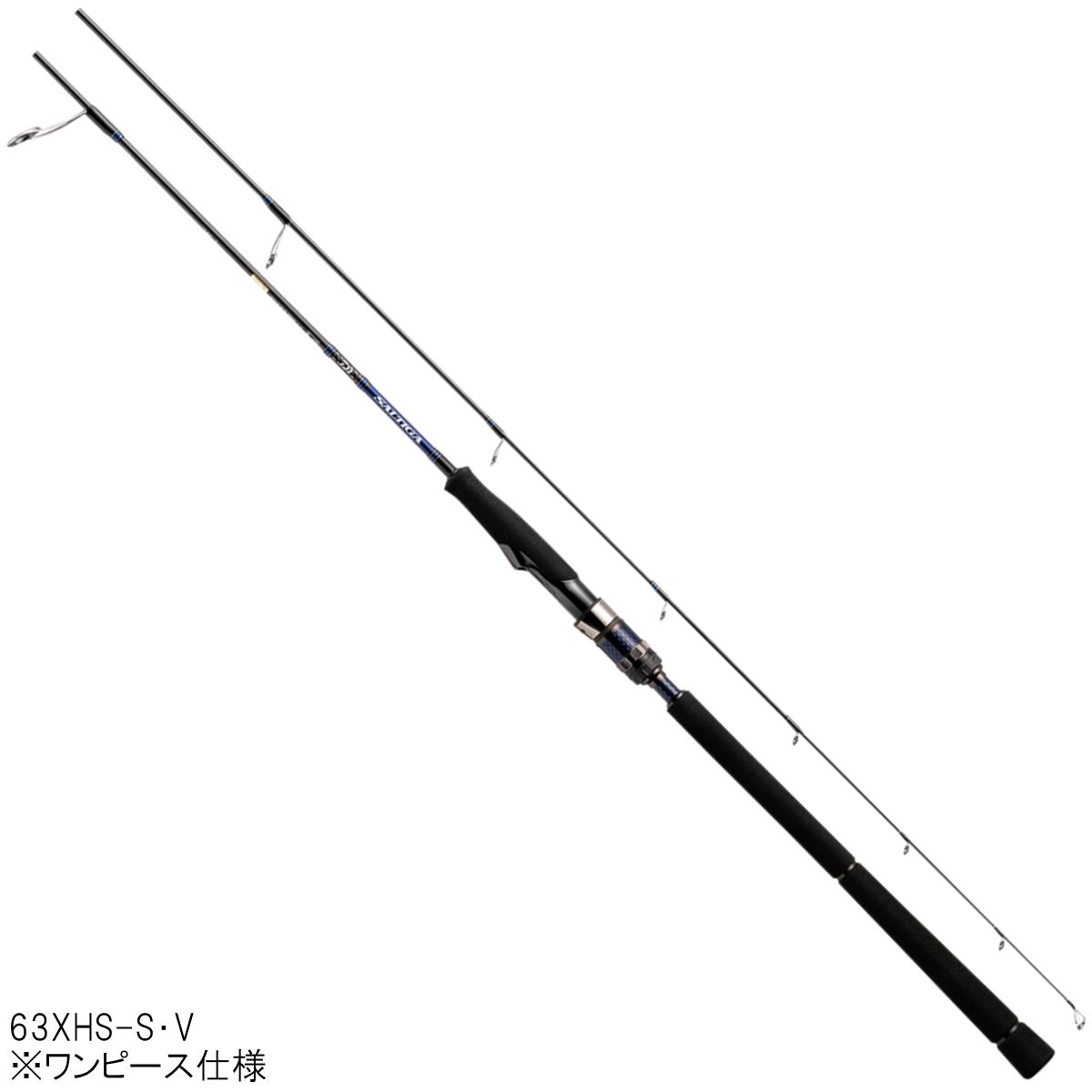 ダイワ ソルティガ BJ ローレスポンス 63XHS-S・V【大型商品】