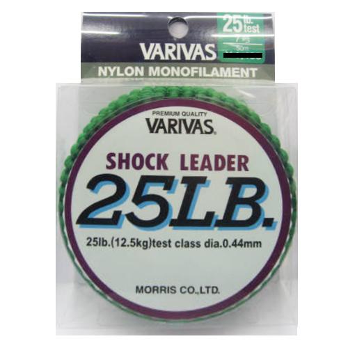 美品 釣具のポイント モーリス VARIVAS ゆうパケット 25LB. ショックリーダー 別倉庫からの配送