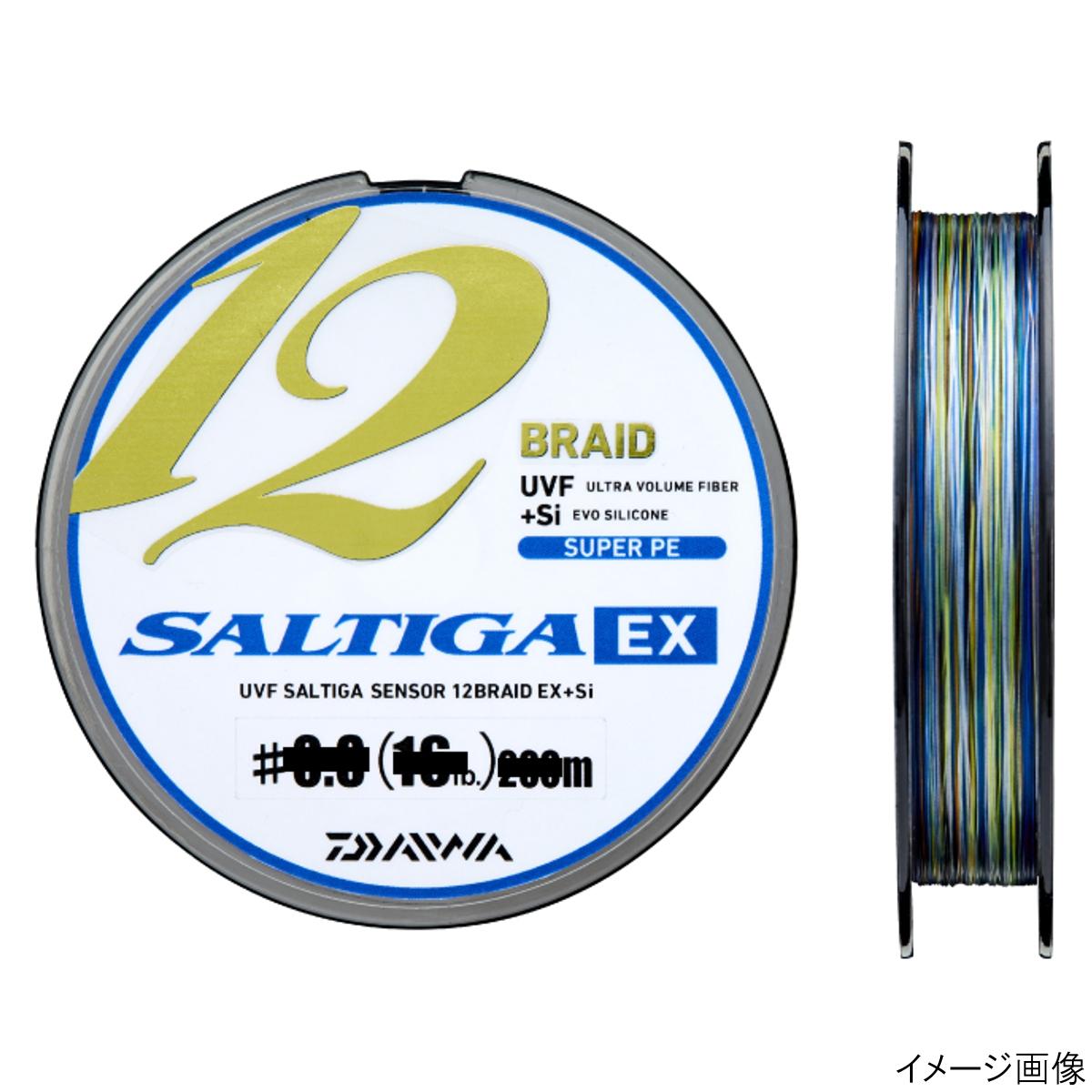 ダイワ UVF ソルティガセンサー 12ブレイドEX+Si 300m 1号【ゆうパケット】