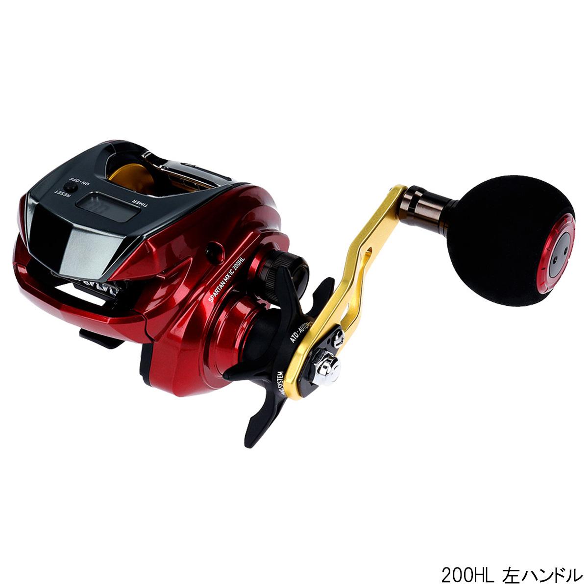 【8日最大8千円オフクーポン!】ダイワ スパルタン MX IC 200HL 左ハンドル