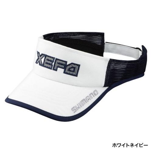 无Shimano(SHIMANO)WIND-FIT遮阳罩CA-243P白深蓝