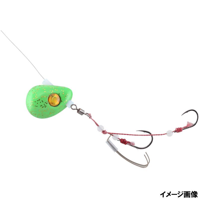 釣具のポイント ジャッカル ビンビンテンヤ鯛夢遊動 13号 お歳暮 ゆうパケット セットアップ ライムグローゴールドフレーク