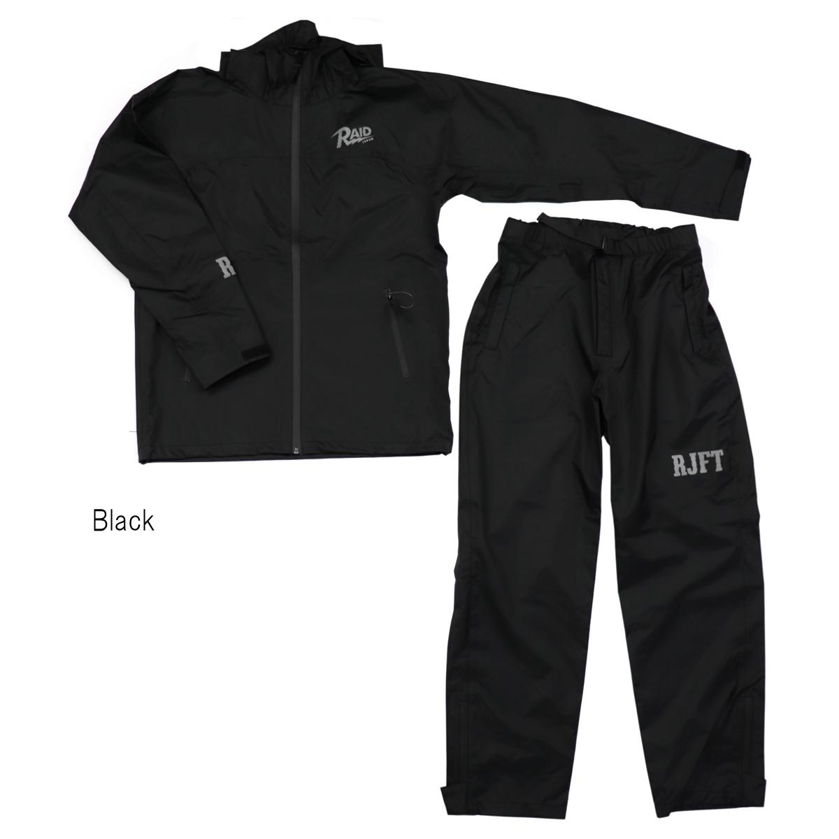 レイドジャパン RJFT RAINWEAR XL Black