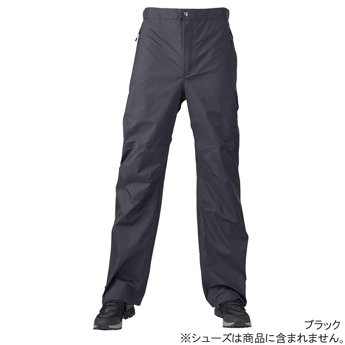 【8日最大8千円オフクーポン!】ダイワ レインマックス レインパンツ DR-25020P L ブラック