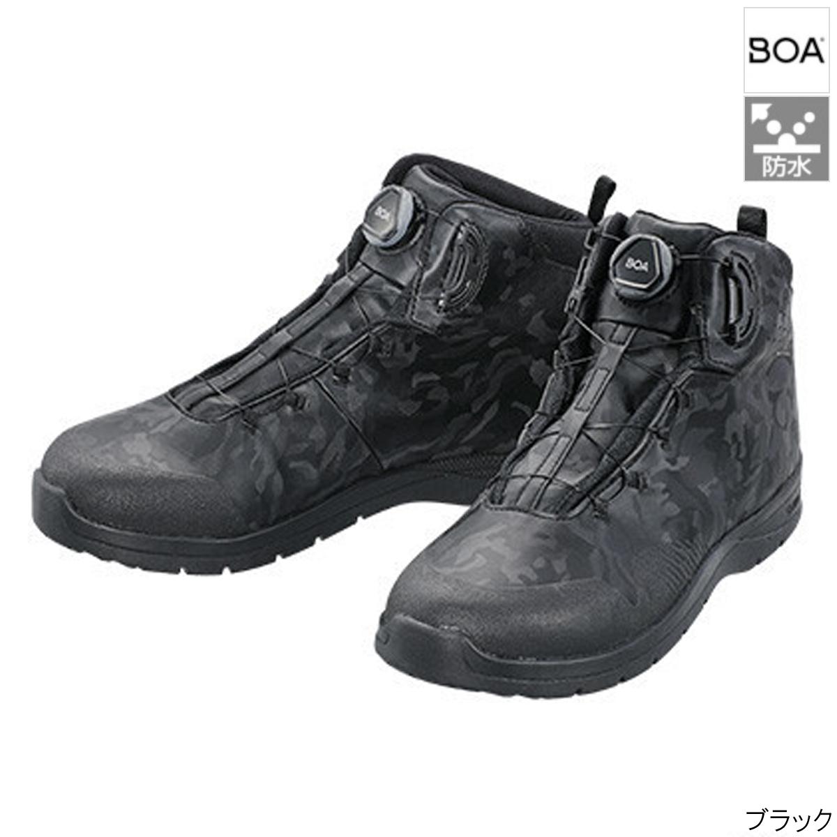 【8日最大8千円オフクーポン!】シマノ ボートフィットシューズ HW FH-036T 25.5cm ブラック