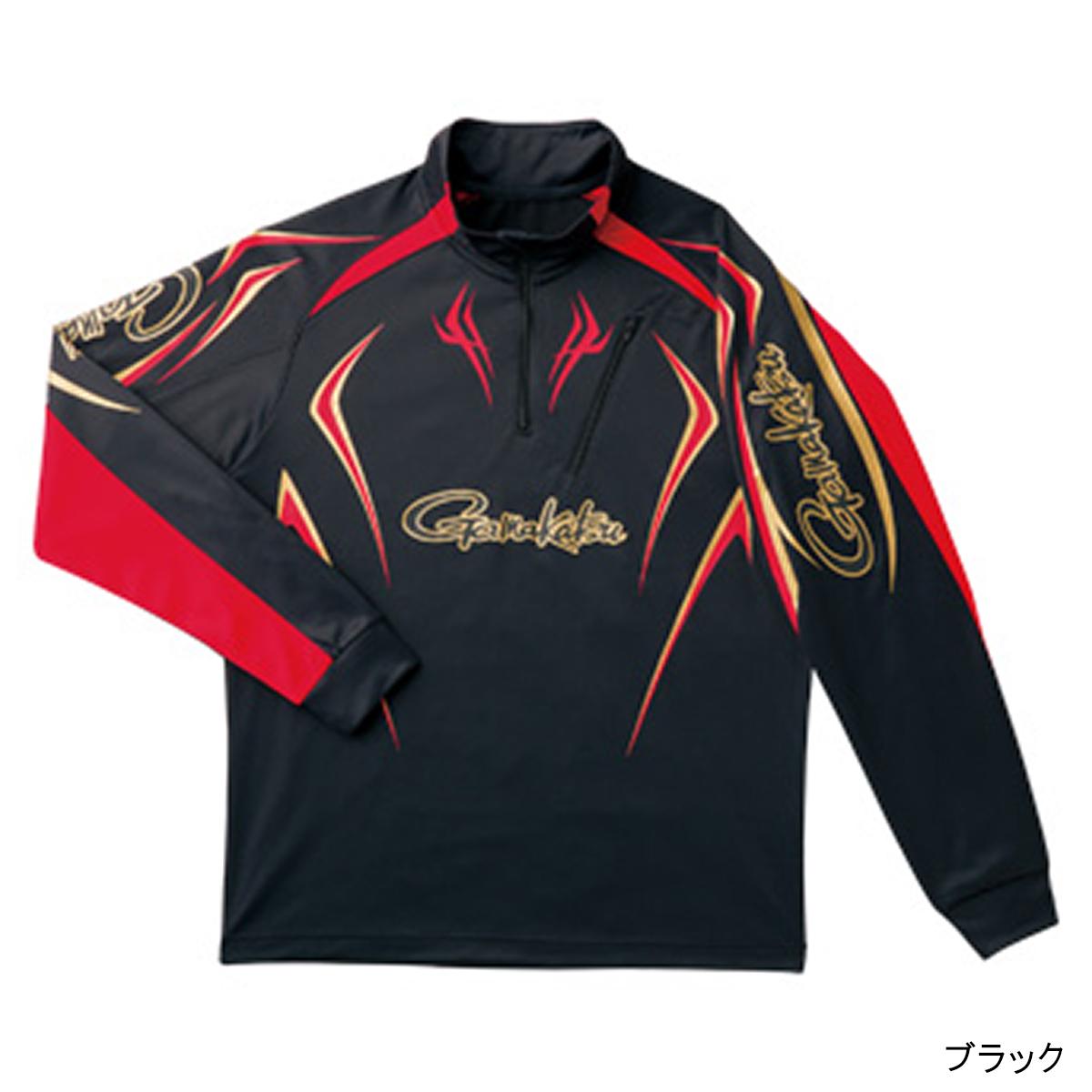 がまかつ クールサマージップシャツ GM-3505 L ブラック