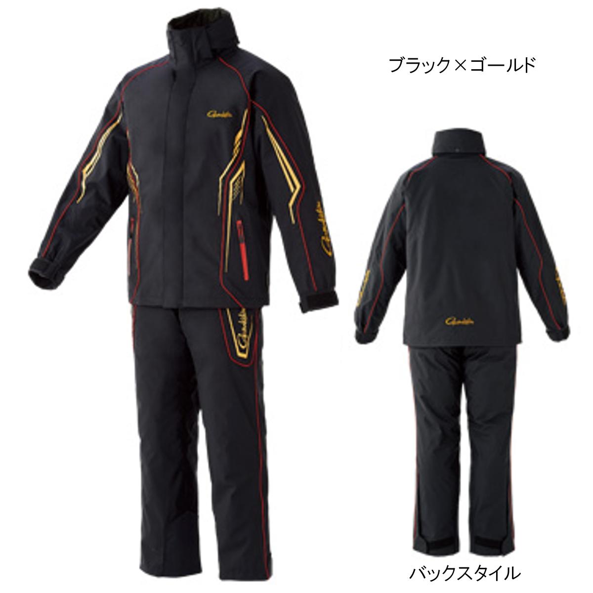 オールウェザースーツ GM-3525 L ブラック×ゴールド