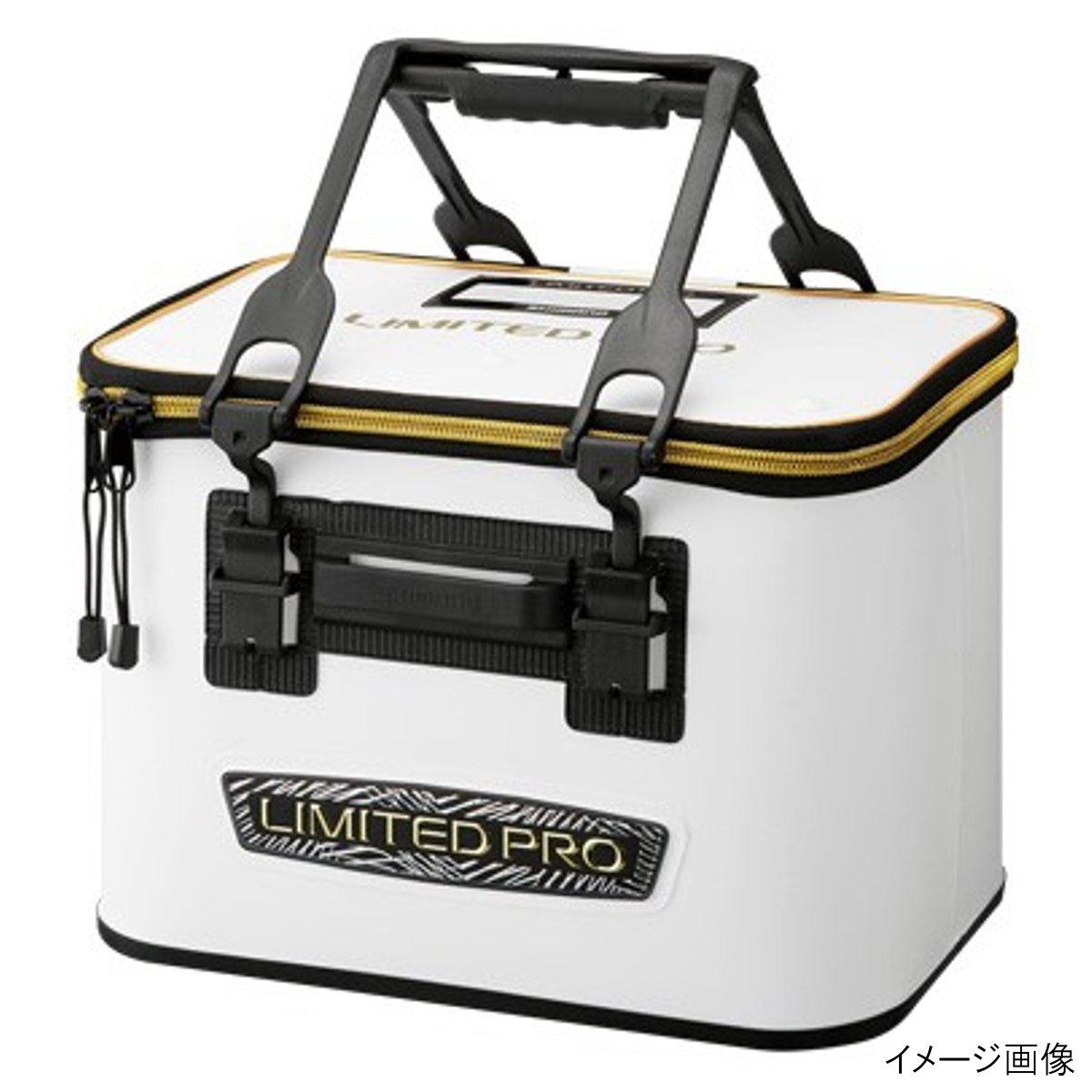 釣具のポイント 9 28 24時間限定 P全品10倍+1 000円オフCP 格安SALEスタート シマノ 新色追加して再販 PRO BK-111R リミテッドホワイト 40cm バッカン LIMITED ハードタイプ