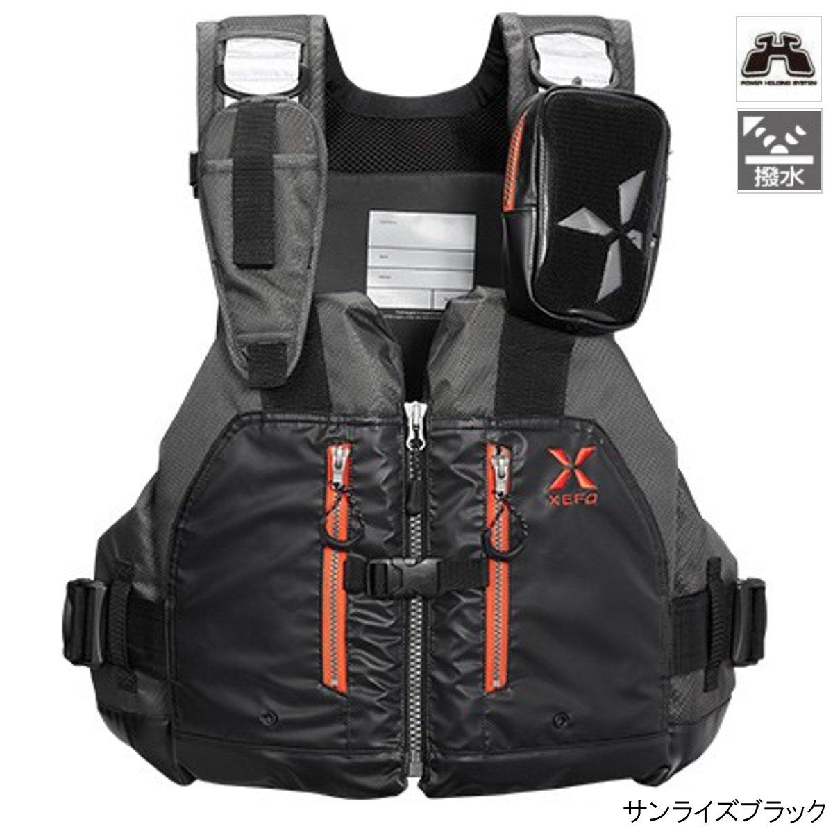 シマノ XEFO ROCK TRAVERSE VEST VF-297Q フリー サンライズブラック