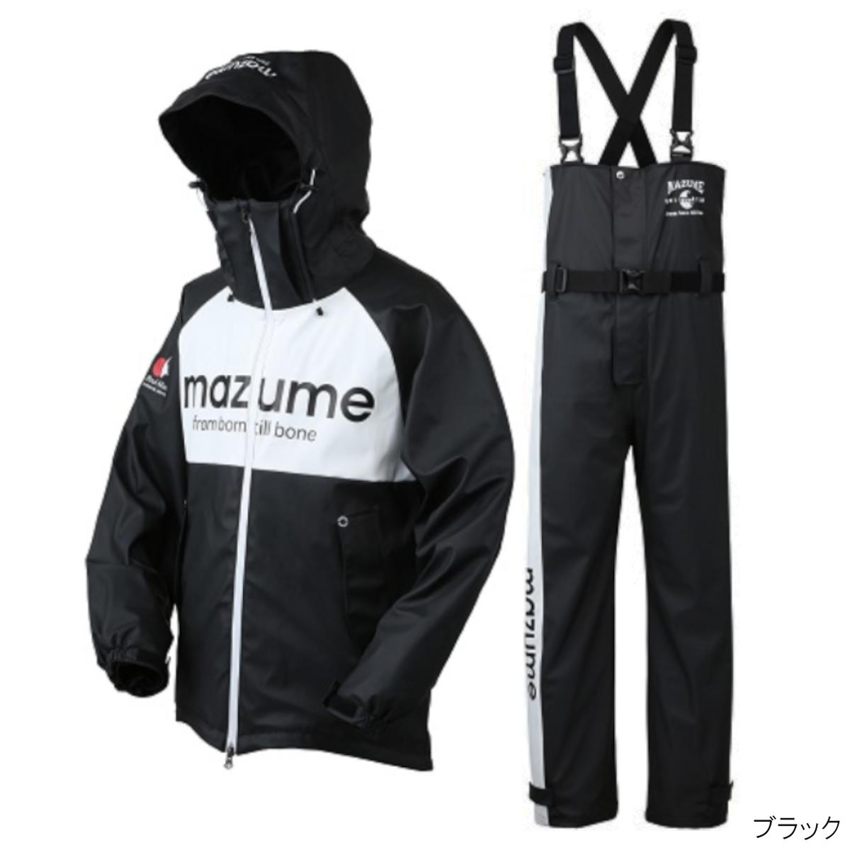 オレンジブルー mazume ラフウォーターレインスーツ III MZRS-434 LL ブラック