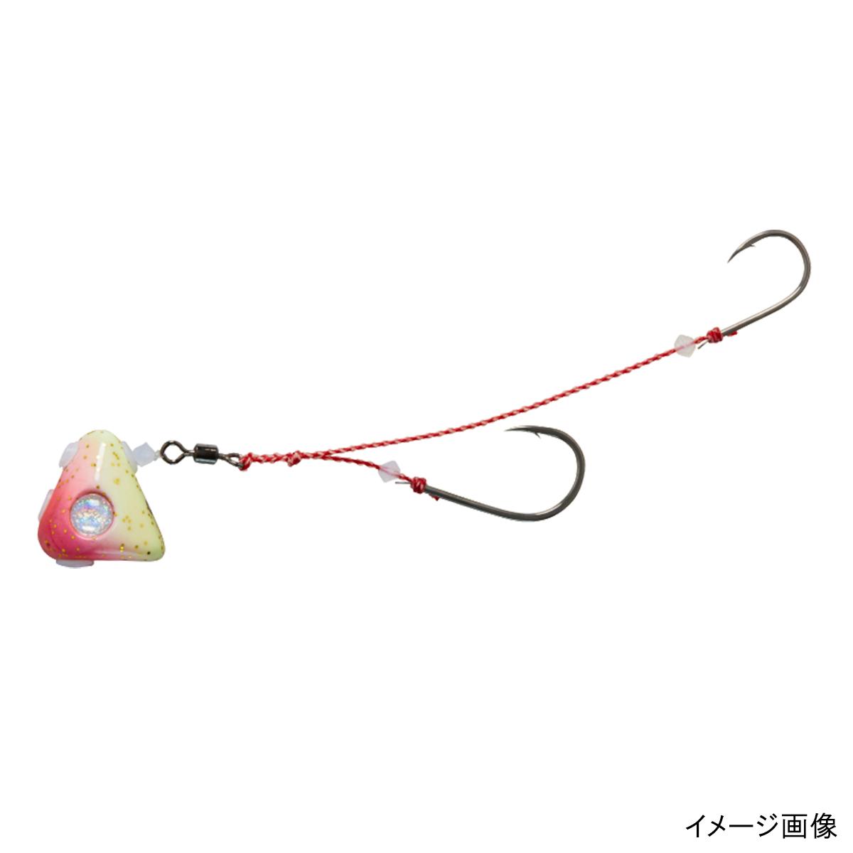 釣具のポイント ダイワ 紅牙 遊動テンヤ+SS 18号 送料無料でお届けします お気に入 ゆうパケット チャート夜光 ピンク