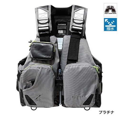 シマノ TACKLE FLOAT Jacket(basic) VF-272N フリー プラチナ