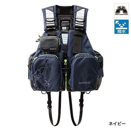 シマノ TACKLE FLOAT Jacket(basic) VF-272N フリー ネイビー