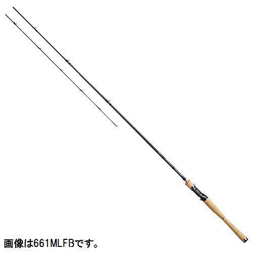 ダイワ ブラックレーベル+ ベイトキャスティングモデル 661M/MLFB【大型商品】