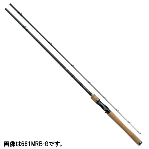 ダイワ ブラックレーベル+ ベイトキャスティングモデル 661MRB-G【大型商品】