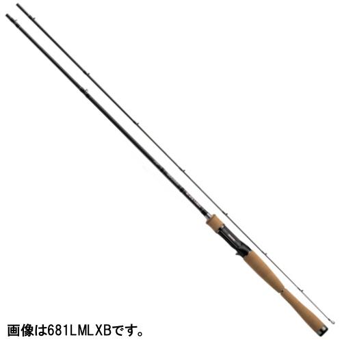 ダイワ ブラックレーベル+ ベイトキャスティングモデル 681LMLXB【大型商品】