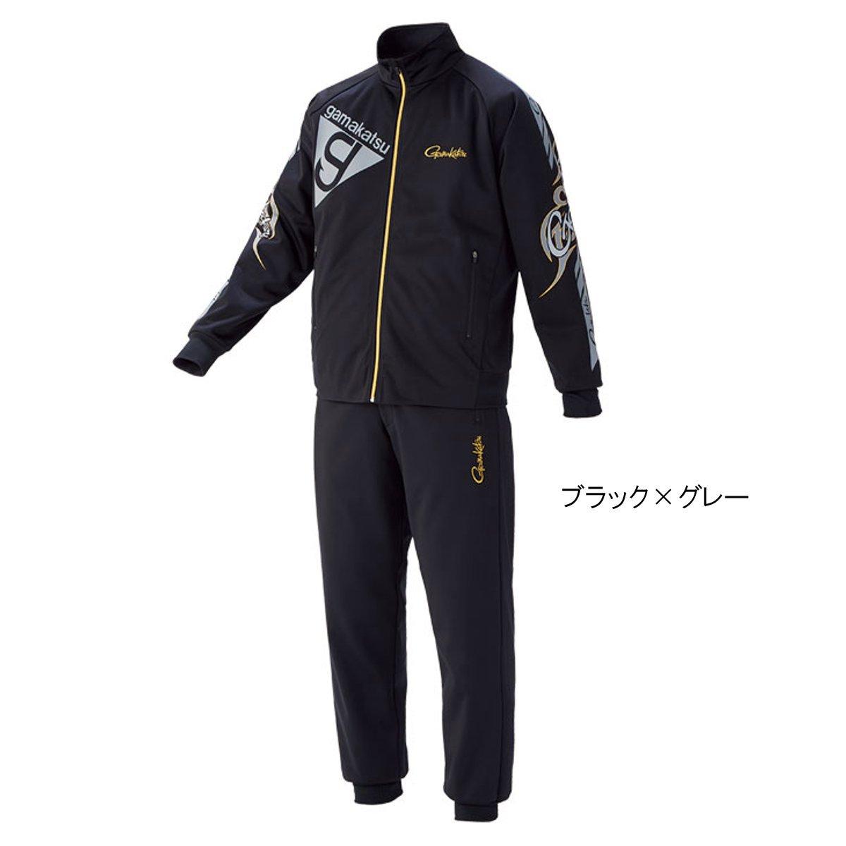 ブリーズテックススーツ GM-3535 LL ブラック×グレー