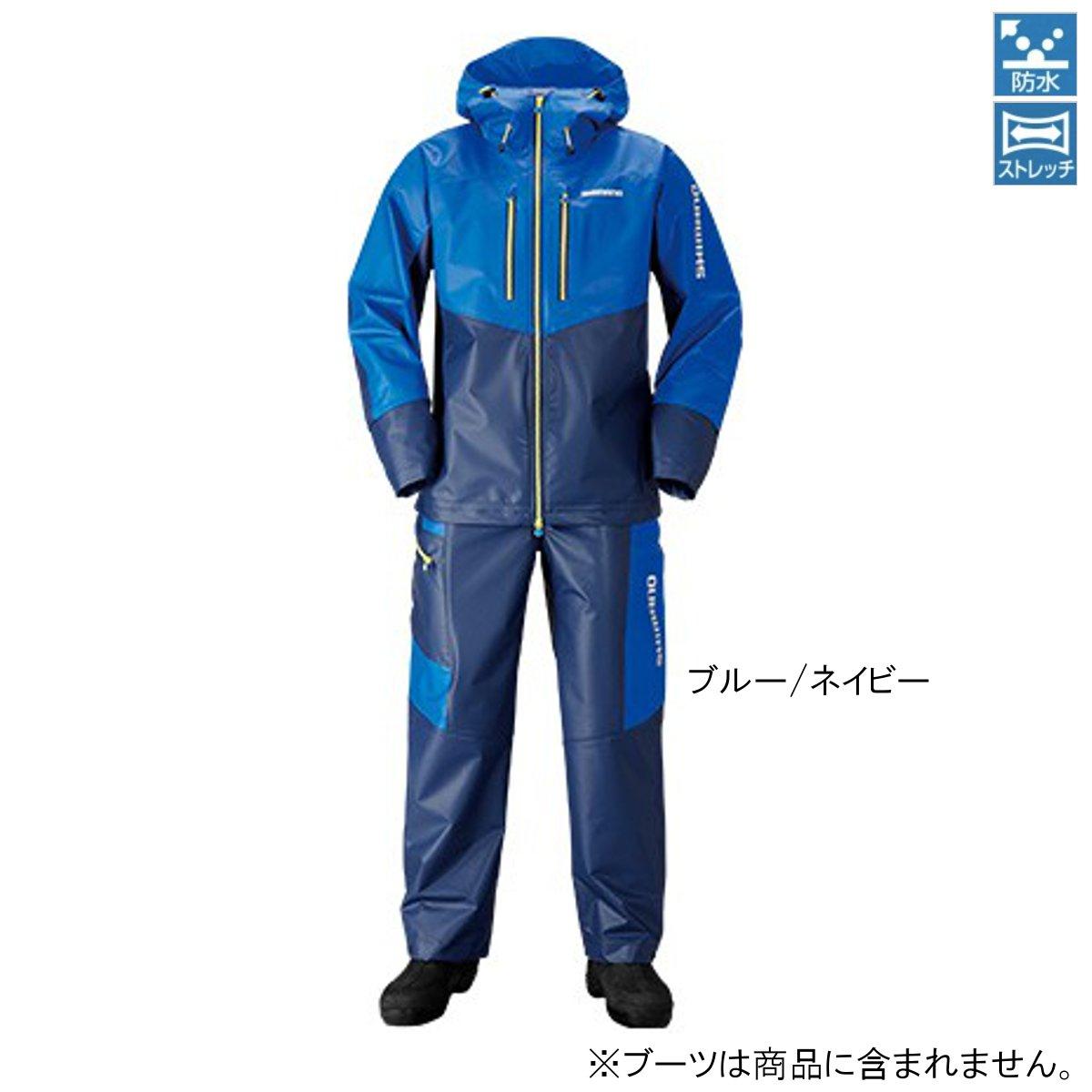 シマノ マリンライトスーツ RA-034N 2XL ブルー/ネイビー