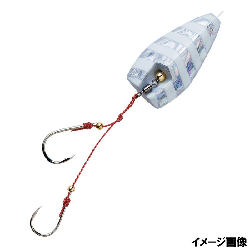 釣具のポイント 無双真鯛 通常便なら送料無料 公式サイト 貫撃遊動テンヤ SE105 ケイムラゼブラグロー 7 6号 ゆうパケット