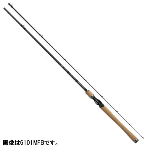 ダイワ ブラックレーベル+ ベイトキャスティングモデル 6101MFB【大型商品】