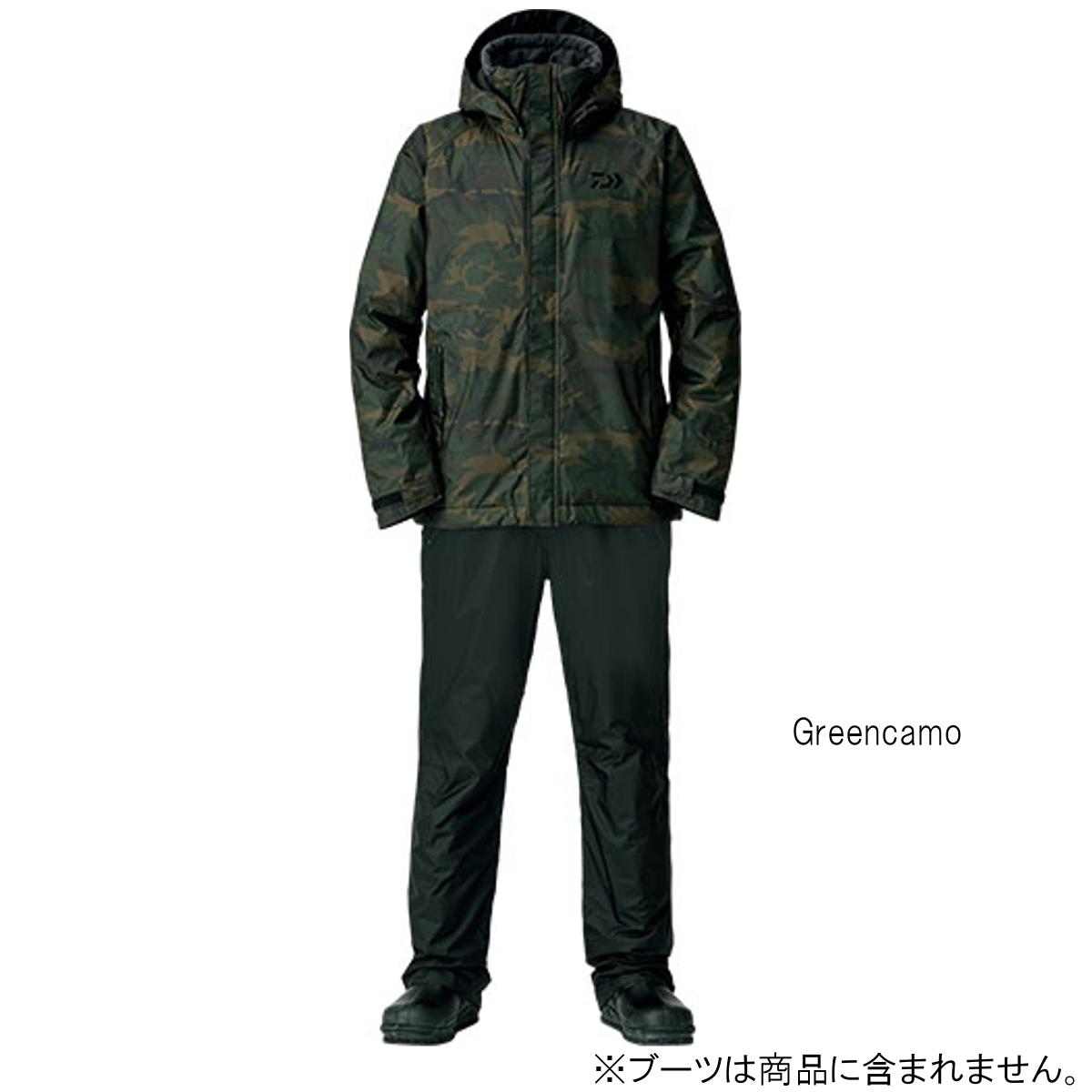ダイワ レインマックス ウィンタースーツ DW-35008 2XL Greencamo