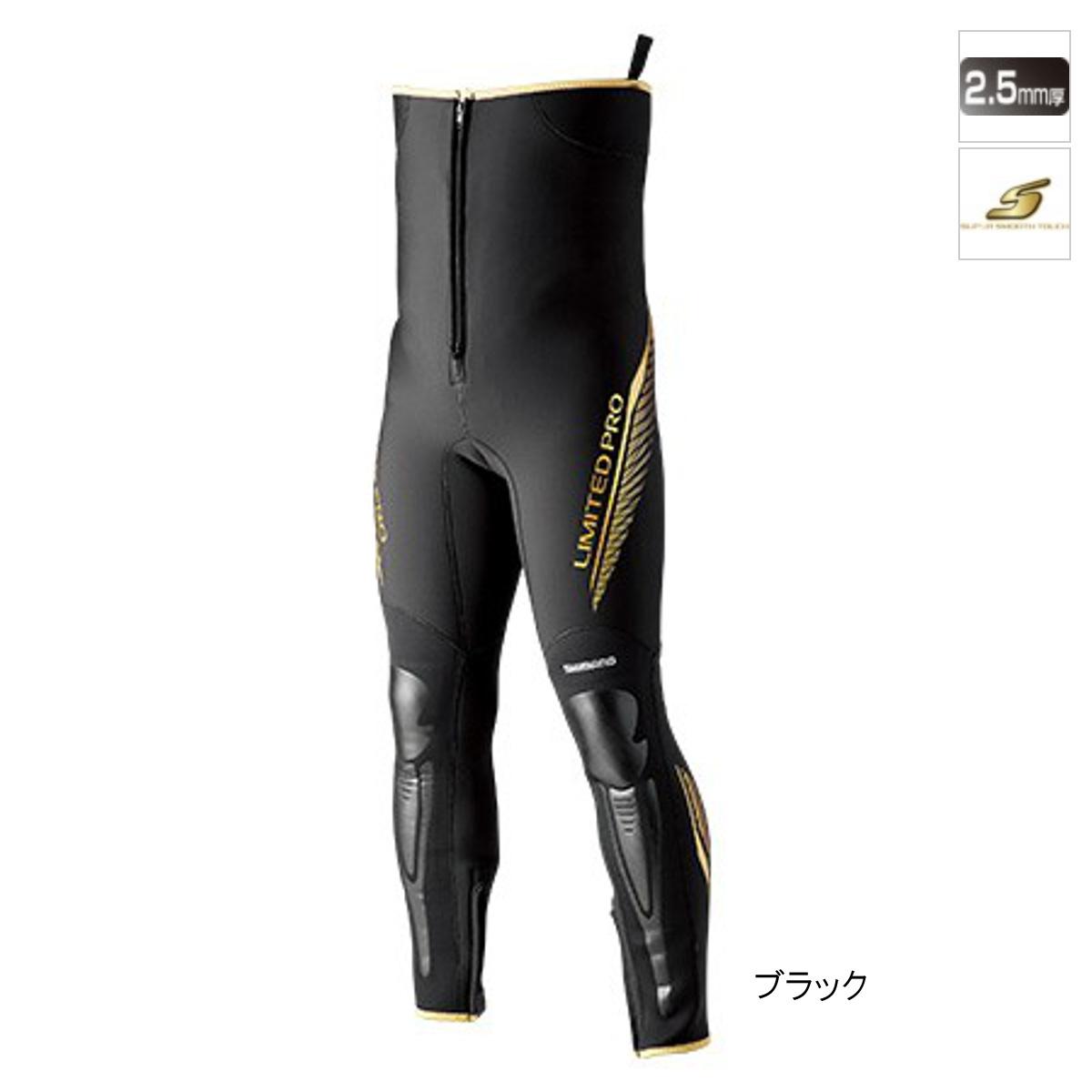 シマノ タイツリミテッドプロ FI-011S MA ブラック