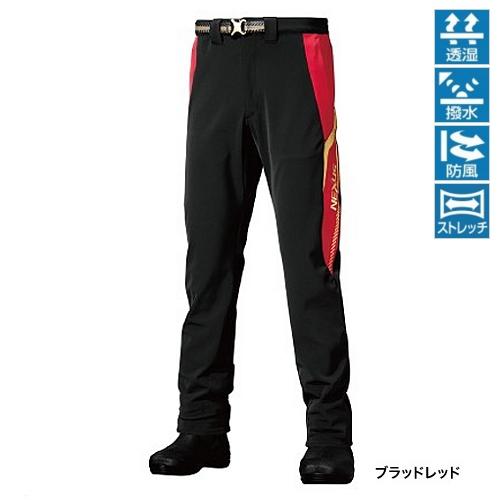 【期間限定60%OFF】シマノ パンツ PA−131PBレッド L【訳あり 売り尽し】 akafuda
