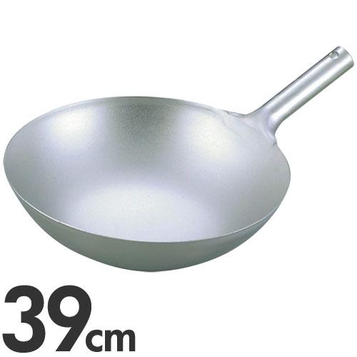 【代引不可】EBM 純チタン 超軽量 中華片手鍋 39cm(中華鍋)