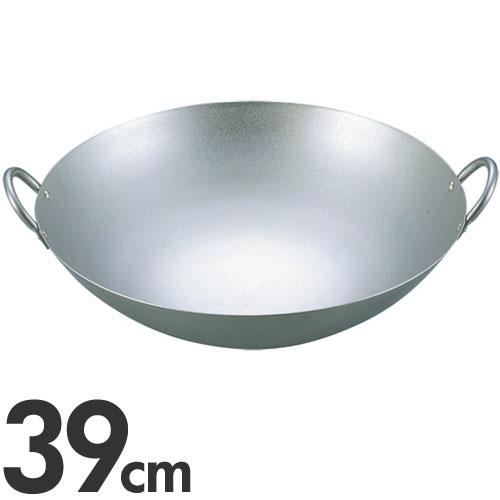 【代引不可】EBM 純チタン 超軽量 中華両手鍋 39cm(中華鍋)