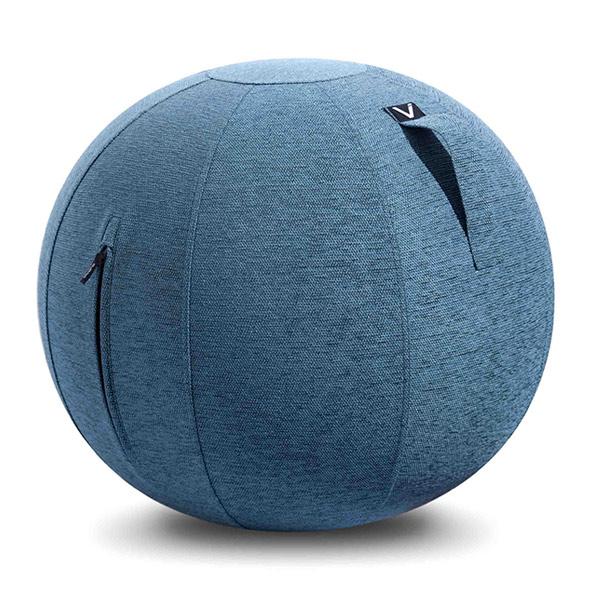 vivora(ビボラ) シーティングボール ルーノ シェニール ブルー バランスボール 65cm