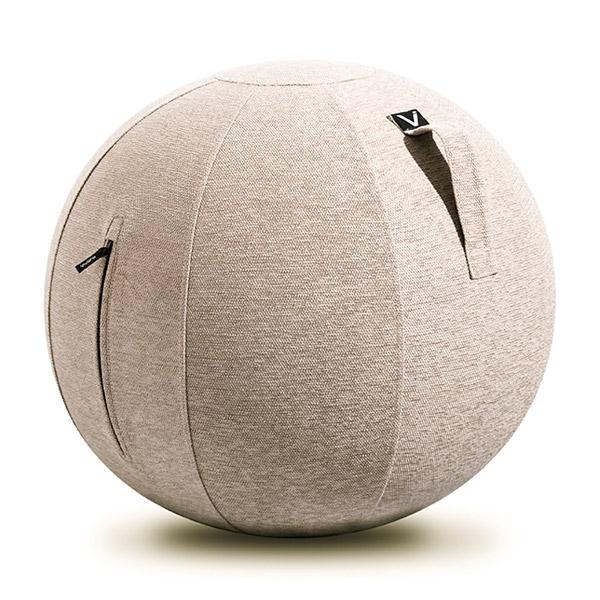 vivora(ビボラ) シーティングボール ルーノ シェニール ベージュ バランスボール 65cm