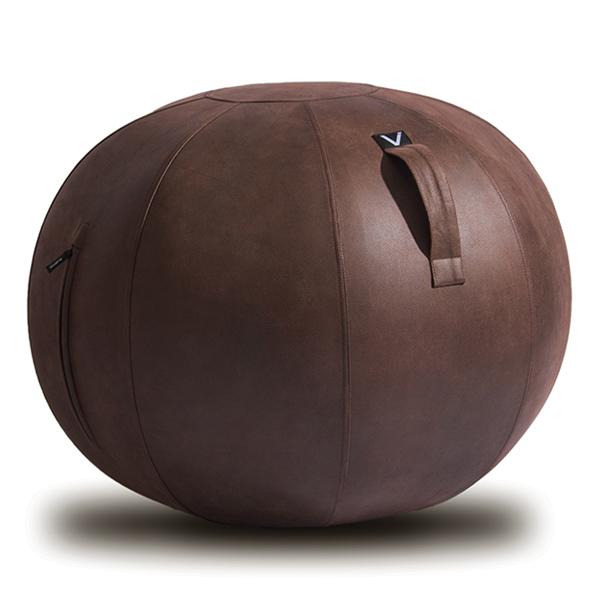 vivora(ビボラ) シーティングボール ルーノ レザーレット ブラウン バランスボール 65cm