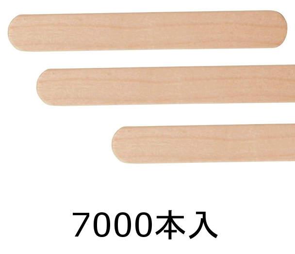 神堂 竹のたより 木製 アイススティック 114mm 幅広タイプ 7000本