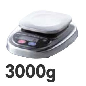 【代引不可】A&D デジタル防水はかり HL-3000WP(キッチンスケール)