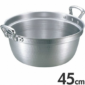 アカオアルミ 両手鍋 DON 料理鍋 45cm 20L