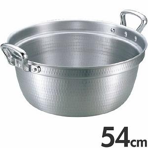アカオアルミ 両手鍋 DON 料理鍋 54cm 37L