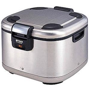 【代引不可】タイガー 業務用角型電子ジャー 炊きたて 3升 JHE-A540 保温専用 ステンレス(XS)