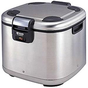 【代引不可】タイガー 業務用角型電子ジャー 炊きたて 4升 JHE-A720 保温専用 ステンレス(XS)