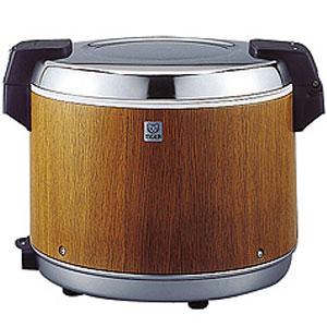 【代引不可】タイガー 業務用電子ジャー 炊きたて 2升2合(2.2升) JHA-4000 保温専用 木目(MO)