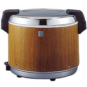 【代引不可】タイガー 業務用電子ジャー 炊きたて 3升 JHA-5400 保温専用 木目(MO)