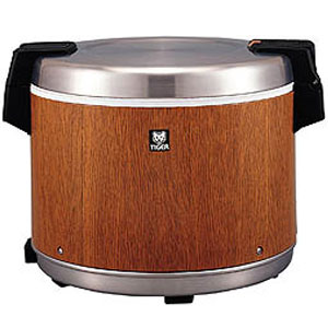 【代引不可】タイガー 業務用電子ジャー 炊きたて 4升 JHC-7200 保温専用 木目(MO)