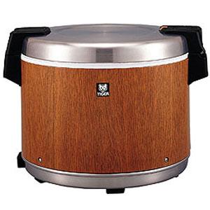 【代引不可】タイガー 業務用電子ジャー 炊きたて 5升 JHC-9000 保温専用 木目(MO)