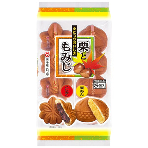 丸京製菓 栗ともみじ 8個×4入り