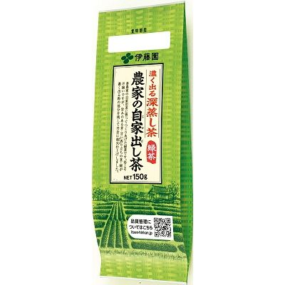 伊藤園 農家の自家出し茶緑茶600 150g×20入