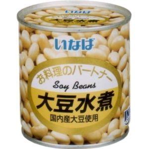 大人気 缶詰 瓶詰 年末年始大決算 農産缶詰 大豆水煮 いなば食品 300g×12入